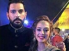 Hazel Keech, Yuvraj Singh Continue Celebrations With Sangeet 2.0