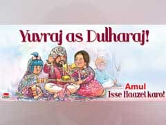 'Yuvraj As <i>Dulharaj'</i> And Other Amul Ads That Made Us Giggle