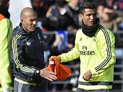 Zinedine Zidane Celebrates Flawless Year at Real Madrid