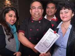 Yummy? Indian Restaurant Billed Him 79 Pounds. Tip Was 1,000.