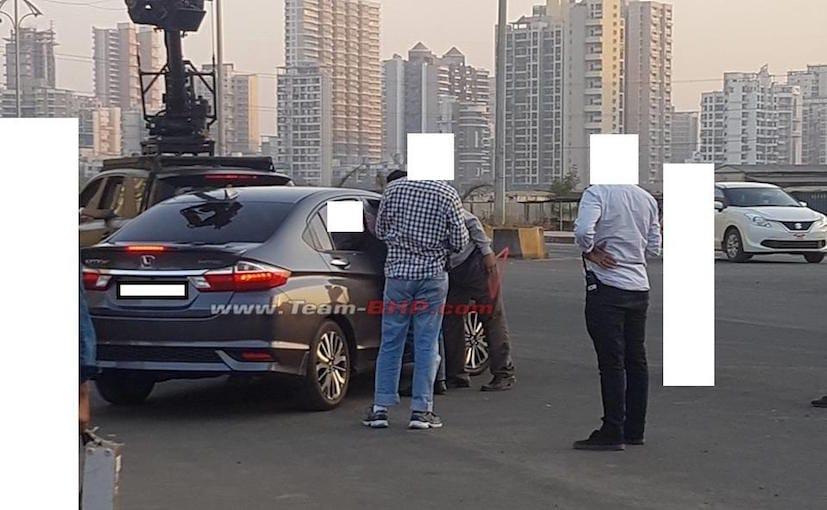 2017 honda city facelift spied india