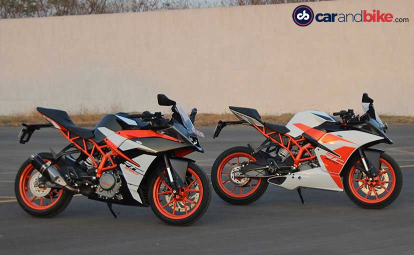 2017 ktm rc 200 first ride review ndtv carandbike. Black Bedroom Furniture Sets. Home Design Ideas