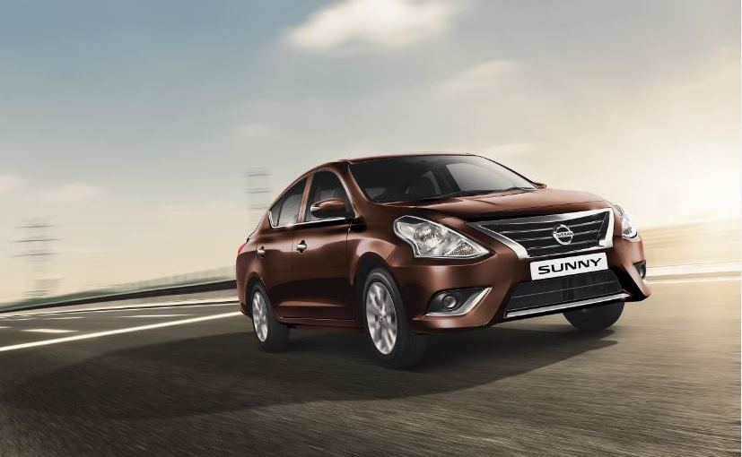 2017 Nissan Sunny Receives A Price Cut Of Up To &#8377 1.9 Lakh