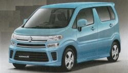 New-Gen Suzuki WagonR And Stingray Revealed In Leaked Brochure Images