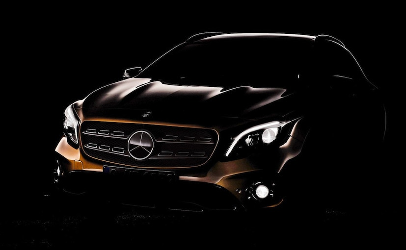 2018 Mercedes-Benz GLA Teased Ahead Of Official Unveil At Detroit Motor Show