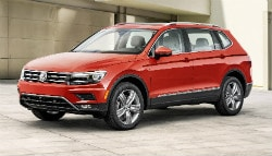 2017 Detroit Auto Show: Volkswagen Tiguan Long-Wheelbase Revealed