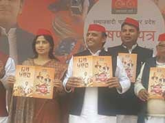 Akhilesh Yadav On Stage With Wife Dimple. Father Mulayam A No-Show