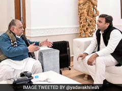 Photo I Tweeted With Netaji Is Old, Admits Akhilesh Yadav To NDTV