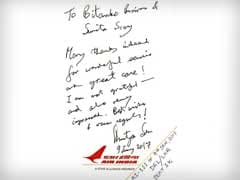 Air India, In Defense, Flags Amartya Sen's Note. But Flight Was Late.