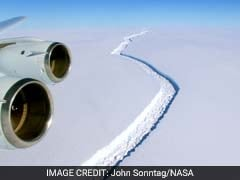 Huge Crack In This Antarctic Ice Shelf Grew By 6 Miles In Over 2 Weeks
