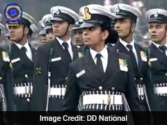 Republic Day 2017: Lt Aparna Nair Leads Navy Contingent Of 144 Young Soldiers