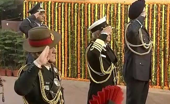 On Army Day, PM Narendra Modi 'Salutes' Soldiers