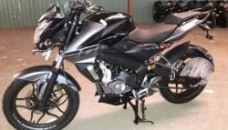 2017 Bajaj Pulsar NS 200 Spotted Sans Camouflage Ahead Of Launch