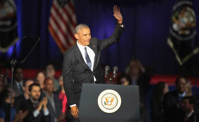Barack Obama Farewell Speech Full Text: US President Speaks In Chicago, Watch Video