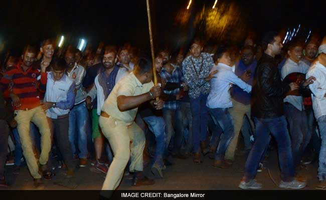 Two men molested a young girl on New Year Eve