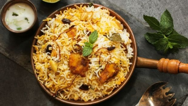 10 Best South Indian Dinner Recipes- biryani