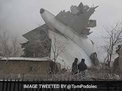 At Least 37 Dead As Cargo Plane Crashes Into Homes In Kyrgyzstan