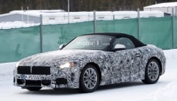 All-New BMW Z5 Spotted Testing Again; Will Be Introduced In 2018