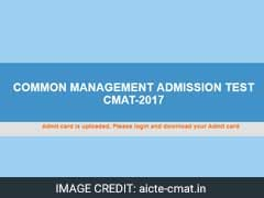 CMAT 2017 Admit Cards Released: Know How To Download