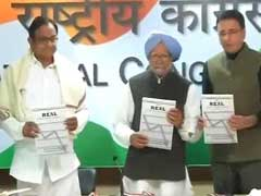 Manmohan Singh, P Chidambaram Release Congress' 'State Of Economy' Report: Highlights