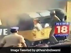 Jallikattu: Kamal Haasan, Others Tweet Video Of Cop Setting An Auto On Fire