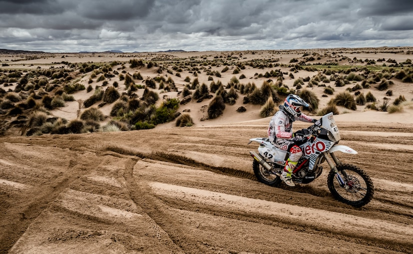 cs santosh hero dakar 2017 stage 7