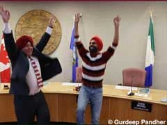Canadian Mayor Wears Turban, Does The Bhangra In Video Gone Viral