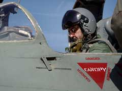 Air Force Chief BS Dhanoa Flies MIG-21 Fighter Solo