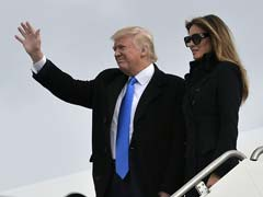 Donald Trump Arrives In Washington On Eve Of Historic Inauguration