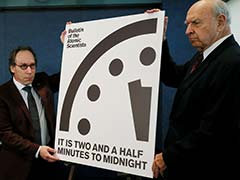 The Doomsday Clock Just Advanced Again: It's Now Two-And-A-Half Minutes Closer To 'Midnight.'
