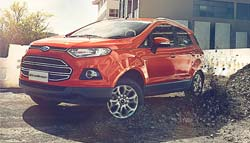 Ford EcoSport Titanium Trim Gets New 8-Inch Touchscreen System