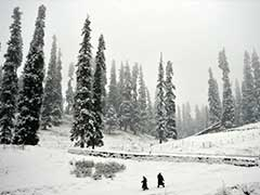 Snow And Rain End Dry Spell In Jammu And Kashmir