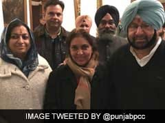 बेअंत सिंह की बेटी की बीजेपी ज्वाइन करने के तीन दिन बाद ही कांग्रेस में वापसी