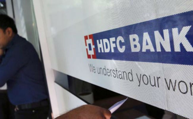 A surge in HDFC Bank shares sent the Sensex over 300 points higher in early trade.