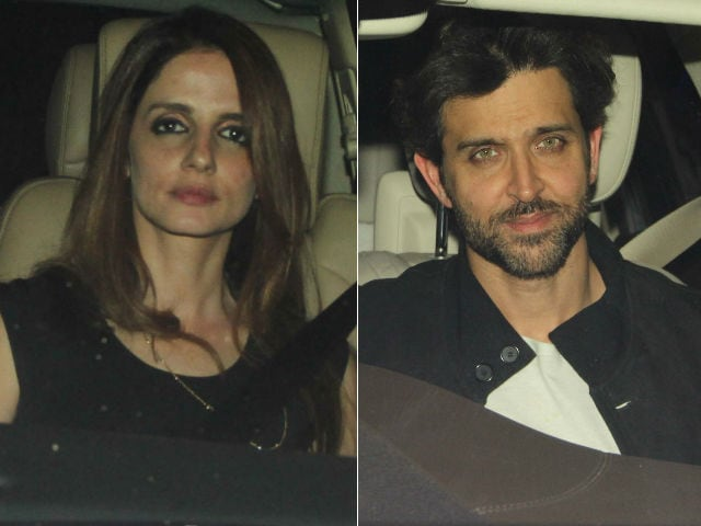 Hrithik Roshan, Sussanne Khan Spotted At His Sister's Party. Before That, Kaabil Screening