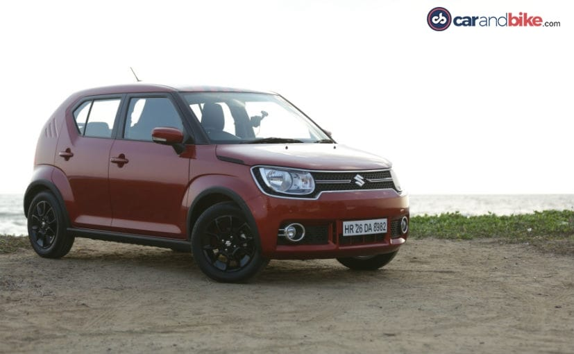 maruti suzuki ignis review the premium tallboy ndtv. Black Bedroom Furniture Sets. Home Design Ideas