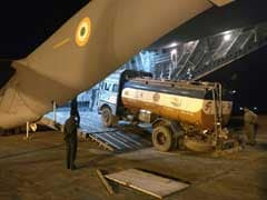 Indian Air Force To The Rescue, Airlifts Fuel Tankers To Crippled Manipur