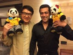 जब जैकी चेन से मिलने पहुंचे सलमान खान, बेहद क्यूट है दोनों की पांडा वाली तस्वीर