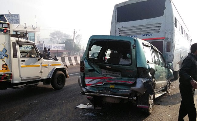 2 killed in pile-up involving 30 vehicles near Jaipur