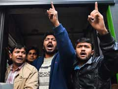 Nearly 300 Students Shouting Pro-Rohith Vemula Slogans Arrested In Delhi
