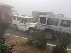 Fog Causes 30-Vehicle Pile-Up At Kanota On Jaipur-Agra Highway, 1 Dead