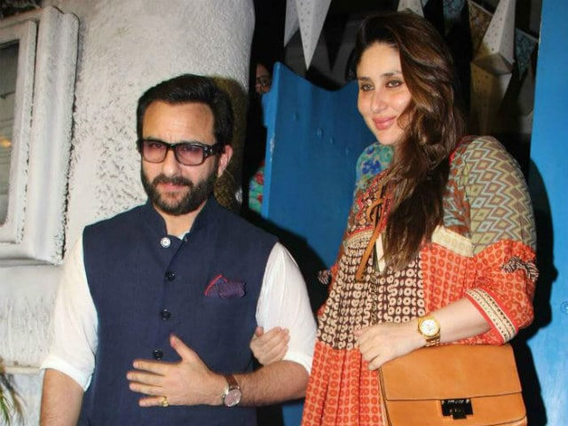 Kareena Kapoor, Saif Ali Khan Wish 'Happy New Year' With Party Selfies