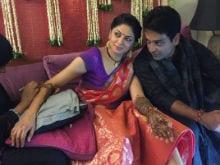 Kavita Kaushik, Ronnit Biswas's <i>Mehndi</i> Ceremony. See Pics