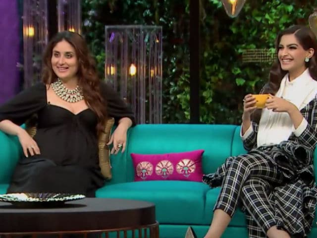 Koffee With Karan 5: Would Be Amazing To Get Stuck With Saif And Shahid In An Elevator, Says Kareena Kapoor