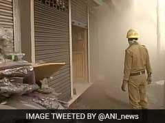 Huge Fire Near Kolkata's Sealdah Railway Station Demolishes Shop