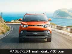 Mahindra & Mahindra Rolls Out Upgraded KUV100