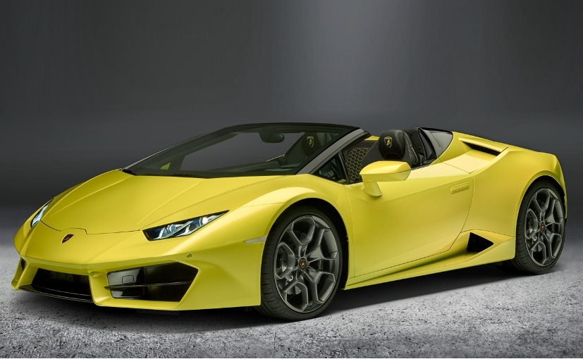 lamborghini huracan rwd spyder india launch date announced ndtv carandbike. Black Bedroom Furniture Sets. Home Design Ideas