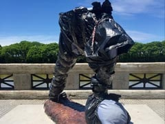 Lionel Messi Statue In Argentina Vandalized; Torso, Head Sliced Off