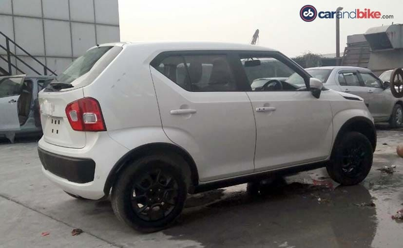 Maruti Suzuki Ignis Starts Arriving At Dealerships Ahead Of Its Launch