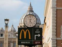 McDonald's Opens Near Vatican, Upsetting Some Purists